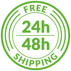 24h Free Shipping